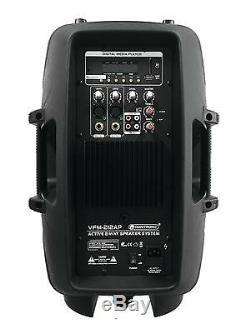 Omnitronic 15î Bluetooth Active Speaker MP3 USB SD DJ PA Disco Karaoke Party