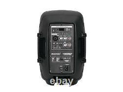 Omnitronic 8î Bluetooth Active Speaker MP3 USB SD DJ PA Disco Karaoke Party