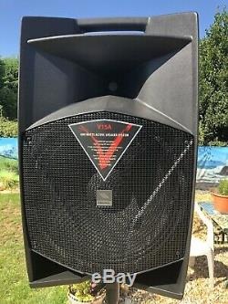 PROEL V15A Active Speaker PA DJ Disco includes cover & speaker stand