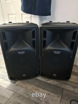 Pa system full set up sennheiser wireless mic rcf active speakers Disco Karaoke