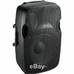 Pair Active Powered 12 Inch DJ Disco PA Speaker System Ibiza XTK12A 1000W Max