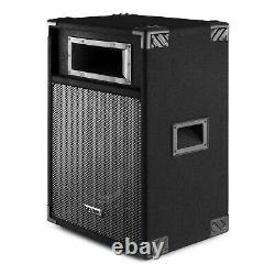 Pair Fenton CSB12 PA Speakers Active 12 Home Karaoke Disco Party 1200W Power