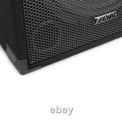 Pair Fenton CSB15 PA Speakers Active 15 Home Karaoke Disco Party 1600W Power