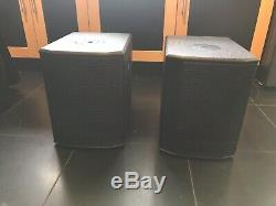 Pair Of DB Technologies ES602 800w Amplified Speakers PA / Disco / Sound System