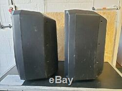 Pair of DB Technologies Cromo 12 Active Disco Band Speakers Great for parties