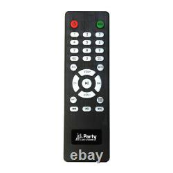 Party Light Sound PARTY-BOX412 1200W 2 x 12 Sound System Disco DJ PA Bluetooth
