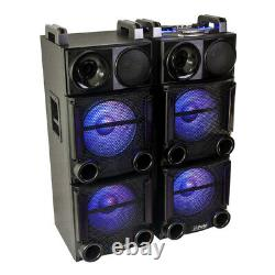 Party Light Sound PARTY-BOX412 1200W 2 x 12 Sound System Disco Damaged