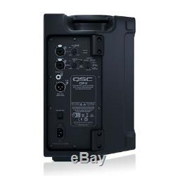 QSC CP8 Active Speaker 8 PA System 1000W DJ Disco Sound System