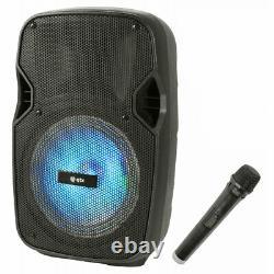 QTX Portable Bluetooth Disco Speaker
