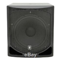 QTX QL15B Active Subwoofer 15 Bass Bin Speaker DJ Disco 1000W
