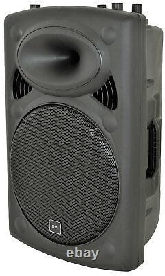 QTX QR15K 15 400W Active Portable Speaker DJ Disco Sound System PA B-Stock