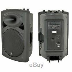 QTX Sound QR15K 15 800W Active Powered PA DJ Disco Party Karaoke Speakers PAIR