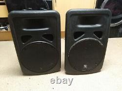 Qtx Active Speakers Disco Speakers 12 600w (sold As A Pair)