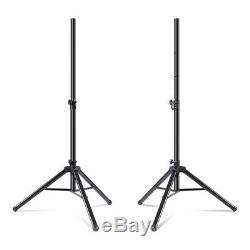 RCF ART312-A (MK4) Active 12 Speaker 1600W PA System Bundle DJ Disco