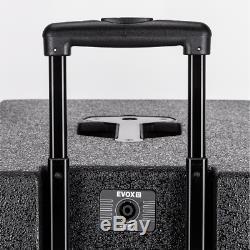 RCF Evox 12 Active Two Column Array Speaker System 1400W DJ Disco Sound System