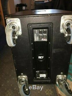RCF PA system HD10A ART905SA active speaker system. Speaker system disco band