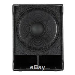 RCF SUB 705-AS II Compact 15 1400W Active Powered DJ Disco Club PA Subwoofer