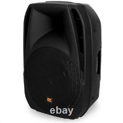 Refurb. Active 12 Pa Speaker 1000w Disco Club Karaoke Dj Monitor Box Twin Xlr