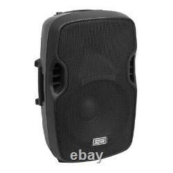 ShowGear Venga 12 Active Speaker 12 PA Sound System DJ Disco
