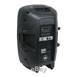 ShowGear Venga 15 Active Speaker 15 PA Sound System DJ Disco