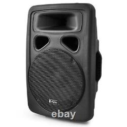 Skytec SP1000A Hi-End Active Powered PA DJ Disco Party 10 ABS Speaker 400W