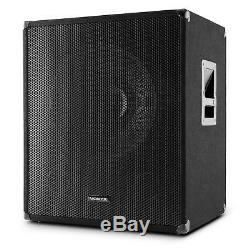 Skytec Swa18 500w Active Sub 18 Pa Subwoofer 46cm Woofer Dj Disco Stage Concert
