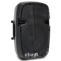 Small 10 Speakers Portable High Powered Set (x4) for Mobile DJ Disco Party PA