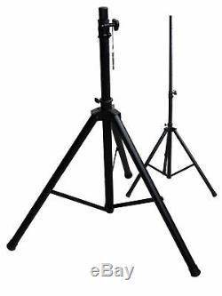 The Complete Set 11 Dj 30cm Speakers Tripod 38 cm Subwoofer Musician 3300W Light