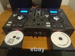 Tibo DJ 1000 CD / USB disco system bundle (with active speakers)