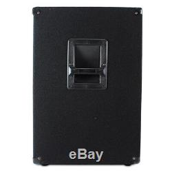 Vonyx 18 Powered Active Subwoofer Bass Boost Bin DJ Disco PA Sub Speaker 1000W