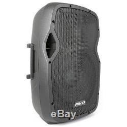 Vonyx AP1200ABT Active Powered PA DJ Disco 12 ABS Bluetooth Speaker System 600W