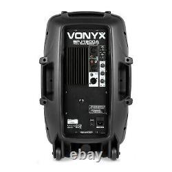 Vonyx Audio SPJ12A V3 12 600W Active DJ Disco PA Club Stage Speaker