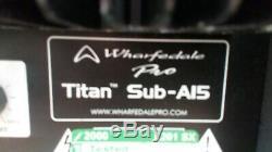 Whafedale Pro Titan A15 Active Subwoofer, Bassbin 400W, disco, pub, party, PA