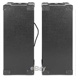 10 Paires Spb Disco Party Bluetooth Haut-parleurs Avec 600w Powered Usb Mp3