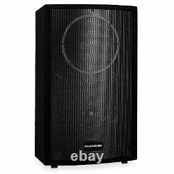 12 Moniteur Dj Actif 550w Rms 2 Voies Pa Speaker Disco Karaoke Party Loudspeaker