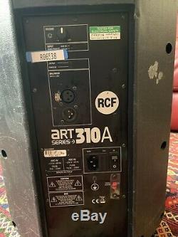1 Rcf Art 310a Actif Professionnel Dj Disco Stage Club Pa Président (défectueux)