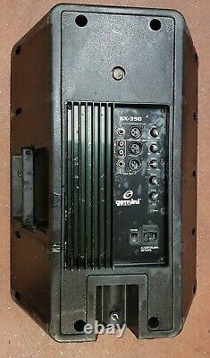 1 X Active Gemini Gx350 12 Pa Disco Speaker (400w) Rms 800 Watts Dj Band