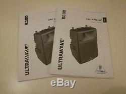 2 Behringer Ultrawave B300 Pa Haut-parleurs Dj Disco Club Band