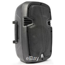2 Haut-parleurs Skytec Compact Active Powered 8 Haut-parleurs Dj Disco Pa, Paires De 400 W
