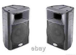 2 X Active Gemini Gx350 12 Haut-parleurs Disco Pa Avec Housses/caisses De Protection