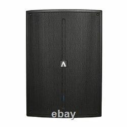 2 X Avante A15s Actif 15 Caisson De Basses-parleurs Bass 1600w Dj Disco Son Système De Sonorisation