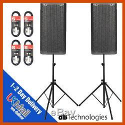 2 X Db Technologies Opera 15 Active 15 Dj Disco En Direct Scène Pa Speaker Package