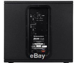2 X Electro-voice Zxa1 Sub 12 Active Bass Subwoofer Bin Dj Disco Pa 1600w