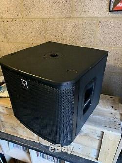 2 X Electro-voice Zxa1 Subs 12 Subwoofers Basse Bin Dj Disco Pa