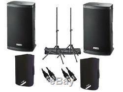2 X Fbt Xlite 15a Actif 2000w 15 Powered Speaker Dj Disco Pa Sound System