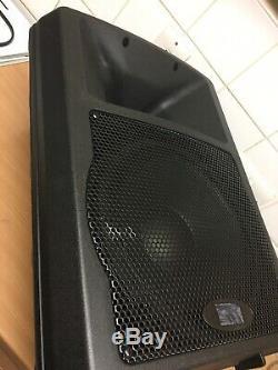 2 X Gemini Gx350 12 Haut-parleurs Actifs (400w) Rms 800 Watts Dj Disco Pa Band