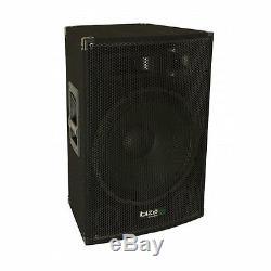 2 X Ibiza Disco15amp Active Pa 15 Président 1600w Sound System 3 Way Disco Dj