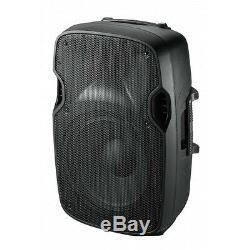 2 X Ibiza Sound 12 Système De Sonorisation Haut-parleur Actif Xtk12a 1000w Système De Sonorisation Dj Disco