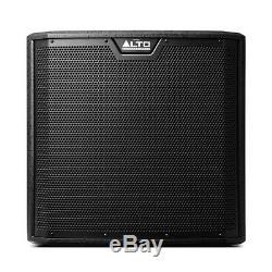 2x Alto Ts312s Actif 12 2000w Caisson De Basses Graves Bin Dj Disco Président Sound System