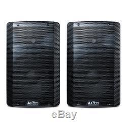 2x Alto Tx210 Actif 10 Powered Haut-parleur 300w Disco Dj Président